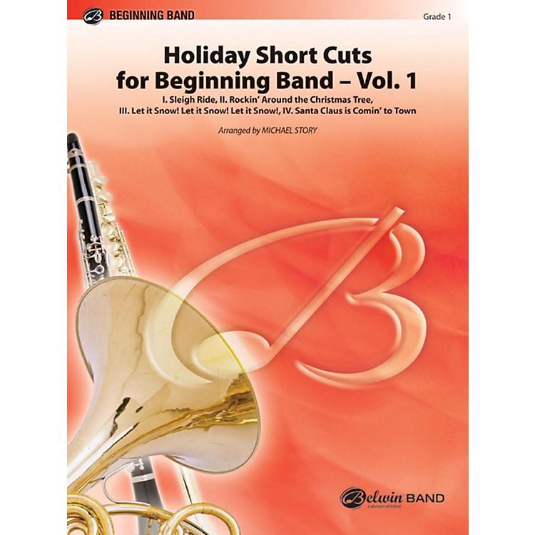 AlfredHoliday Short Cuts for Beginning Band Vol. 1 Concert Band Grade 1