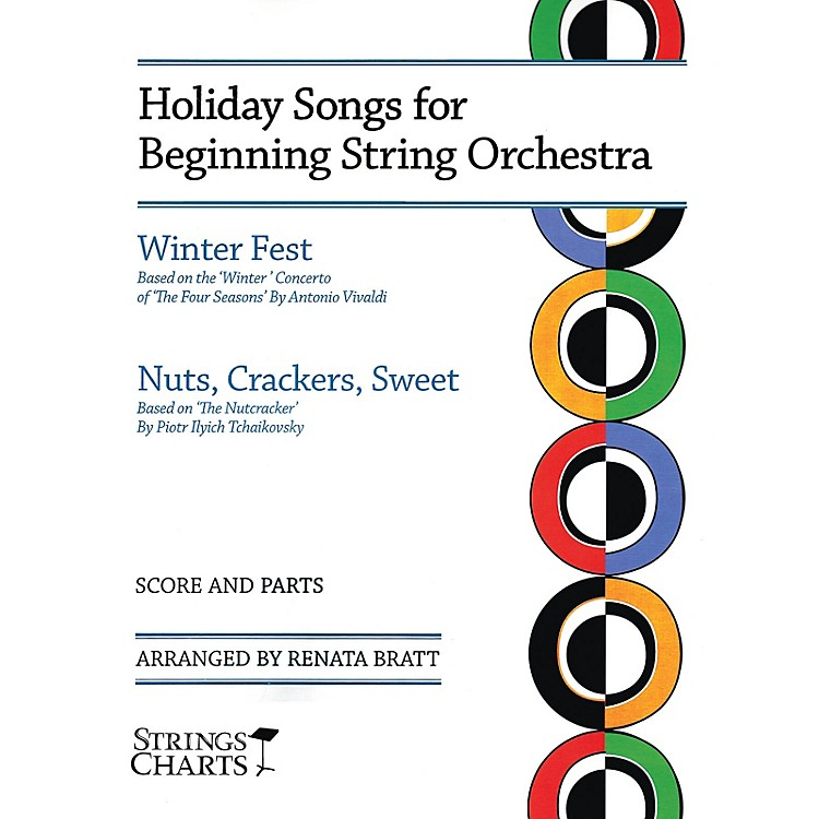 String Letter PublishingHoliday Songs for Beginning String Orchestra String Letter Publishing Series Softcover by Renata Bratt