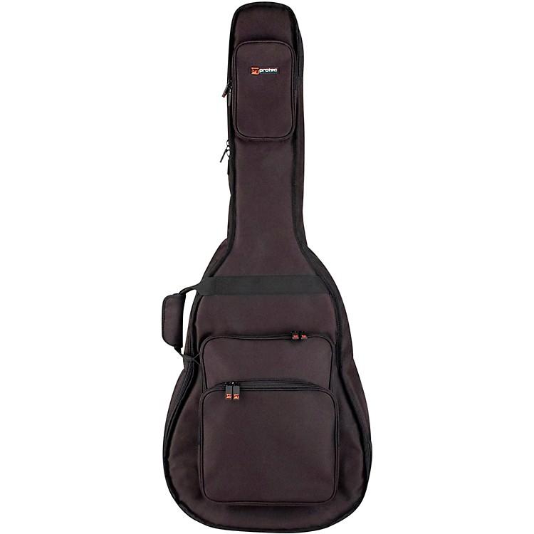 ProtecHollow Body Electric Guitar Gig Bag-Gold SeriesBlack