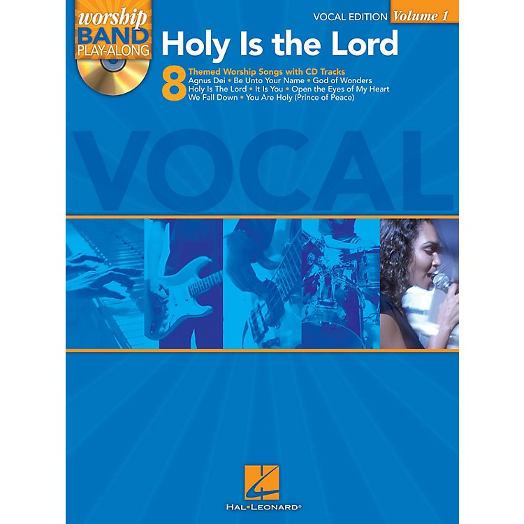 Hal LeonardHoly Is the Lord - Vocal Edition Worship Band Play-Along Series Softcover with CD  by Various