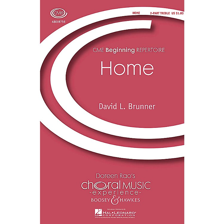 Boosey and HawkesHome (CME Beginning) 2-Part composed by David Brunner