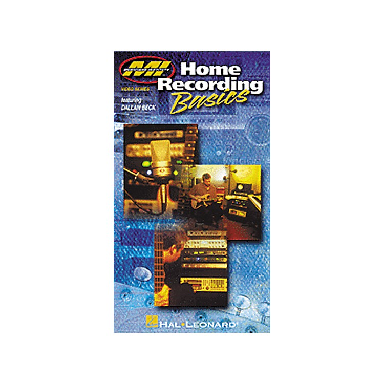 Hal Leonard Home Recording Basics (VHS Video)