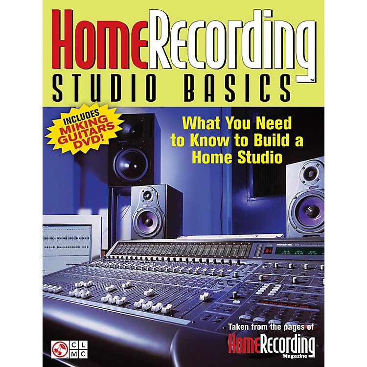 Cherry LaneHome Recording Studio Basics Book Series Softcover with DVD Written by Various Authors