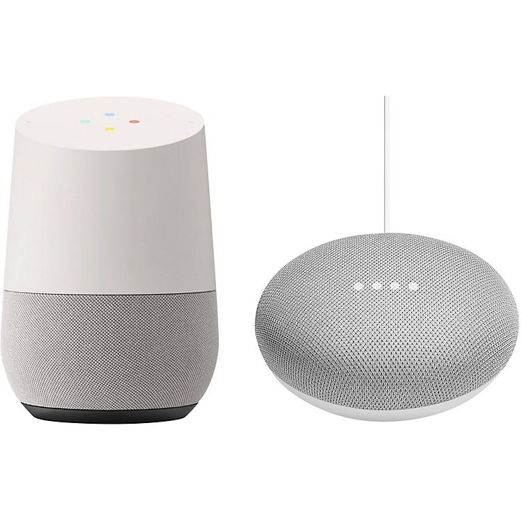 GoogleHome and Home Mini bundleChalk