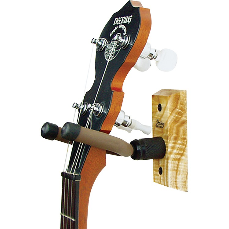 String Swing Home and Studio Wood Banjo Hanger wood