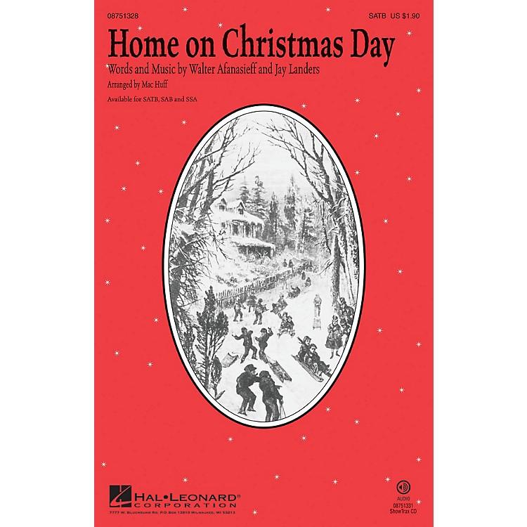 Hal LeonardHome on Christmas Day ShowTrax CD by Kristin Chenoweth Arranged by Mac Huff