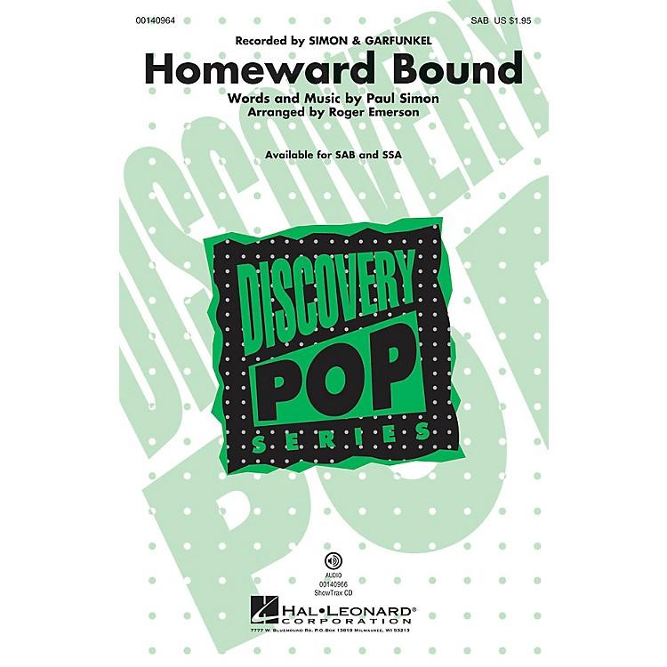Hal LeonardHomeward Bound ShowTrax CD by Simon & Garfunkel Arranged by Roger Emerson