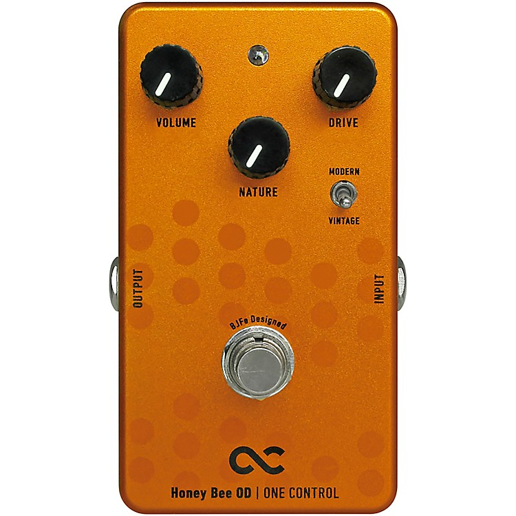 One ControlHoney Bee Overdrive Effects Pedal