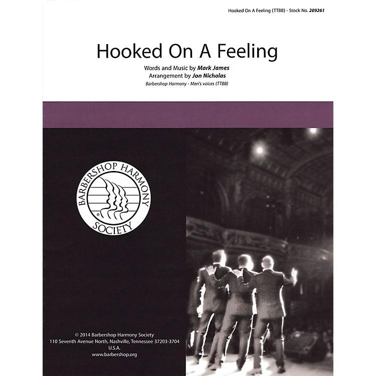 Hal LeonardHooked on a Feeling TTBB A Cappella arranged by Jon Nicholas