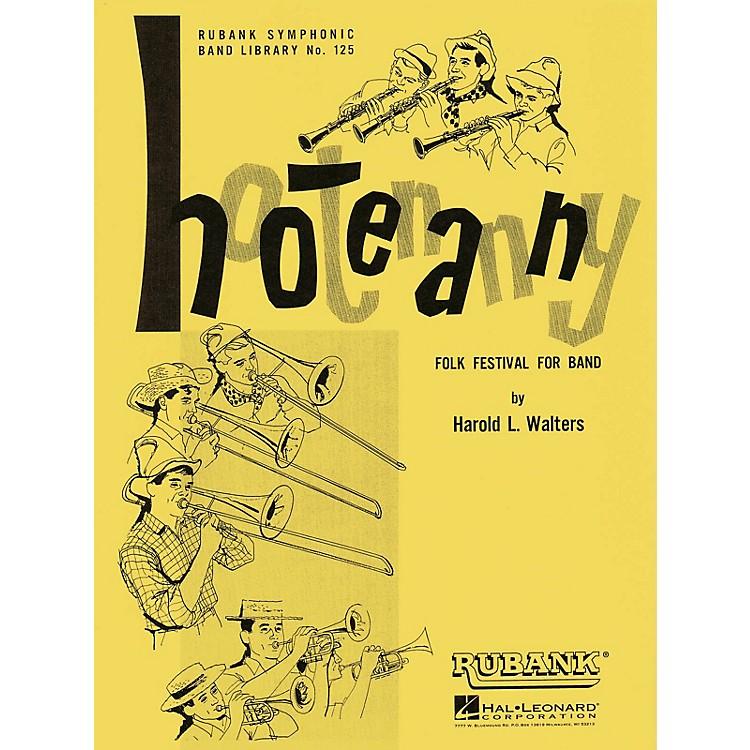 Rubank PublicationsHootenanny (Folk Festival for Band) Concert Band Level 3-4 Arranged by Harold L. Walters