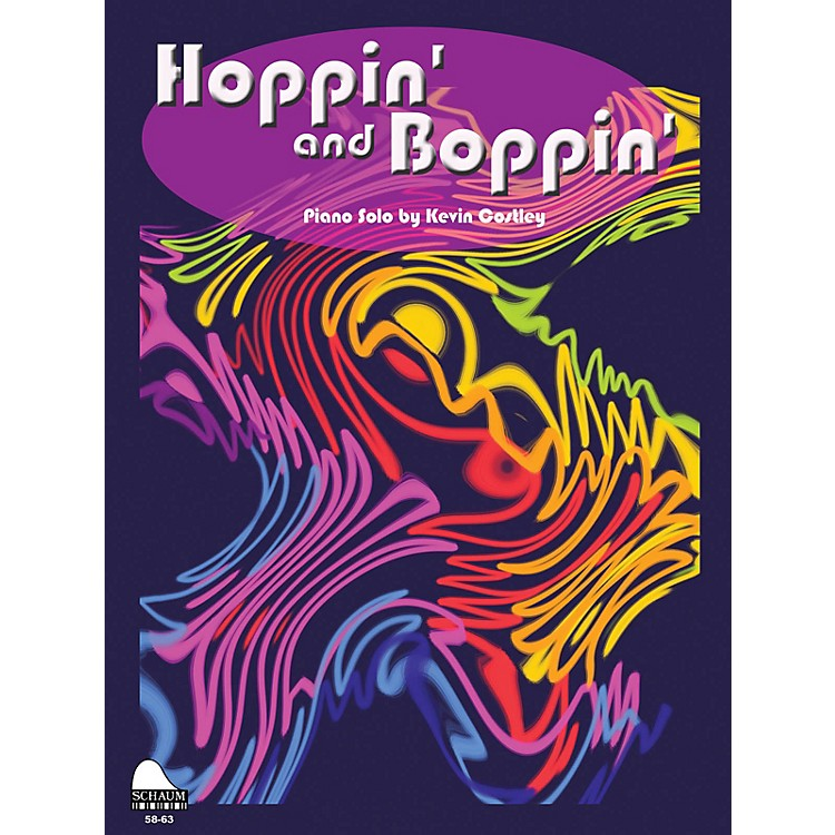 SCHAUMHoppin' And Boppin' Educational Piano Series Softcover