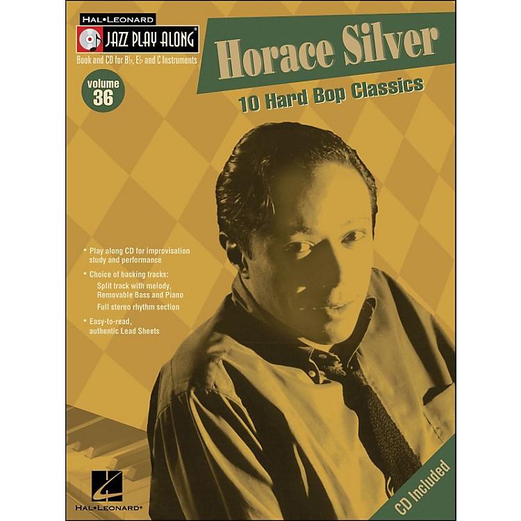 Hal LeonardHorace Silver Volume 36 Book/CD Jazz Play Along