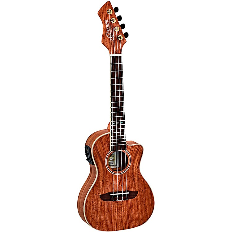 Ortega Horizon Series RUWN-CE Walnut Concert Acoustic-Electric Ukulele Satin Natural