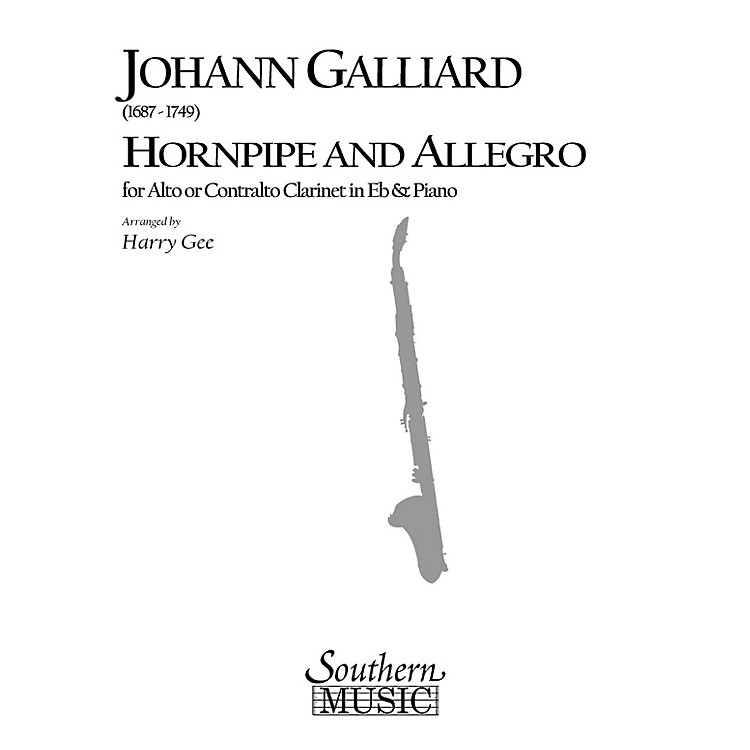 SouthernHornpipe and Allegro (Woodwind Solos & Ensemble/Alto Clarinet Music) Southern Music Series by Harry Gee