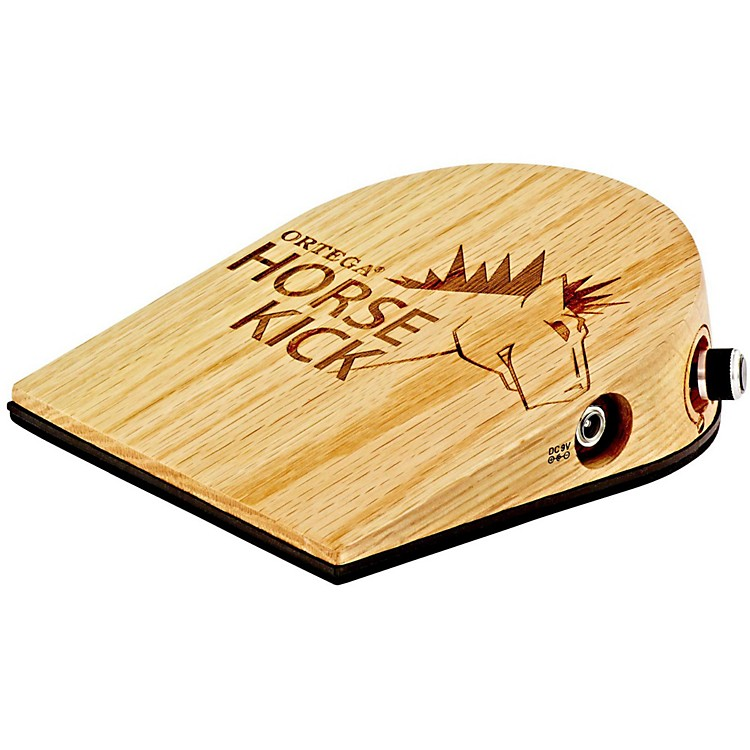 Ortega Horse Kick Digital Guitarist Stomp Box with Cajon Bass Sample