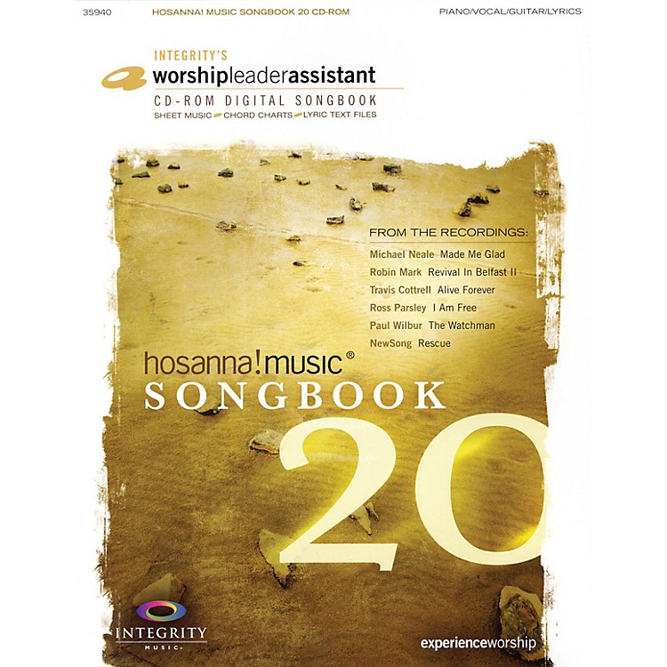 Integrity MusicHosanna! Music Songbook 20 Integrity Series CD-ROM Performed by Various