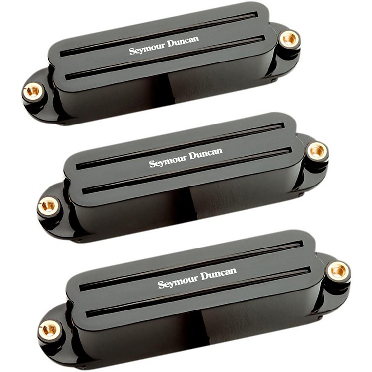 Seymour Duncan Hot Rails Strat Pickup Set Black