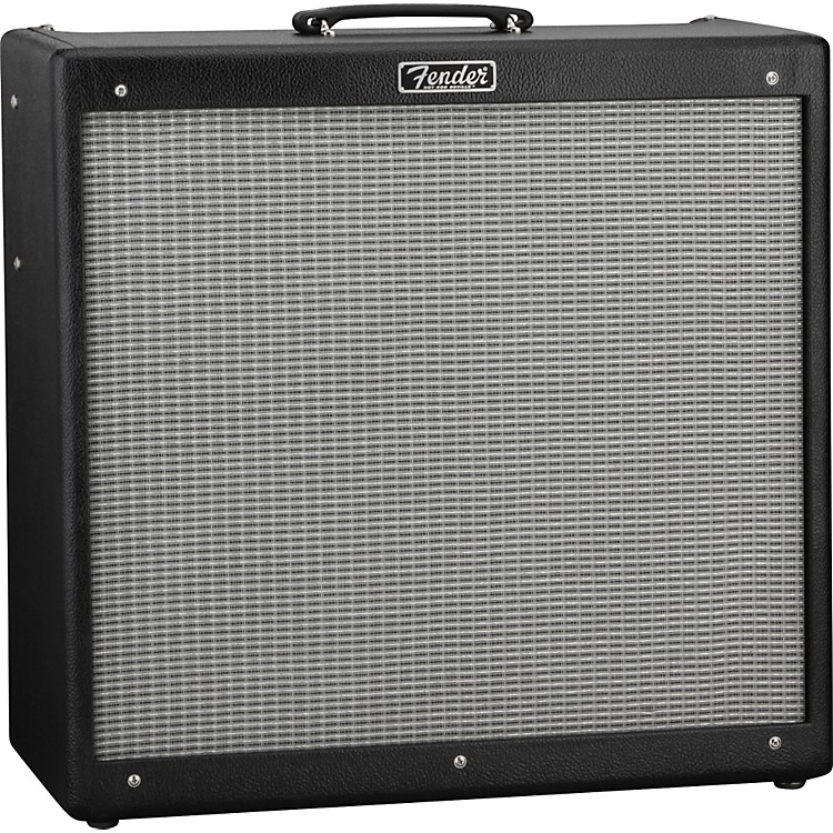 Fender Hot Rod DeVille 410 III 60W 4x10 Tube Guitar Combo Amp Black 886830607936