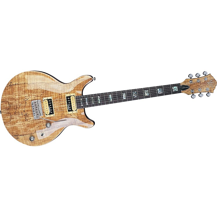 michael kelly hourglass limited spalted flame maple top electric guitar music123. Black Bedroom Furniture Sets. Home Design Ideas