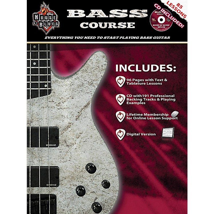 Hal LeonardHouse Of Blues Bass Guitar Course (Book/CD)