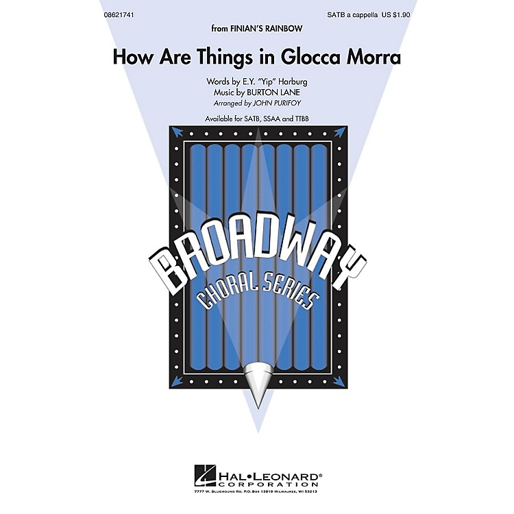 Hal LeonardHow Are Things in Glocca Morra (from Finian's Rainbow) SSAA A Cappella Arranged by John Purifoy