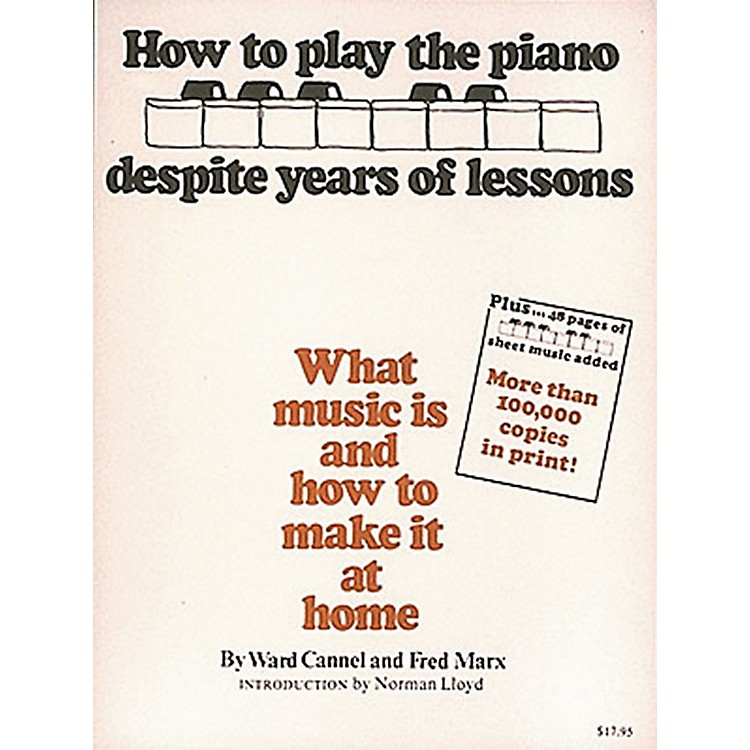 Hal LeonardHow To Play Piano Despite Years of Lessons - Book