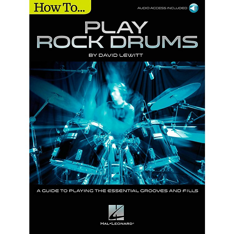 Hal Leonard How To Play Rock Drums (Book/Online Audio)