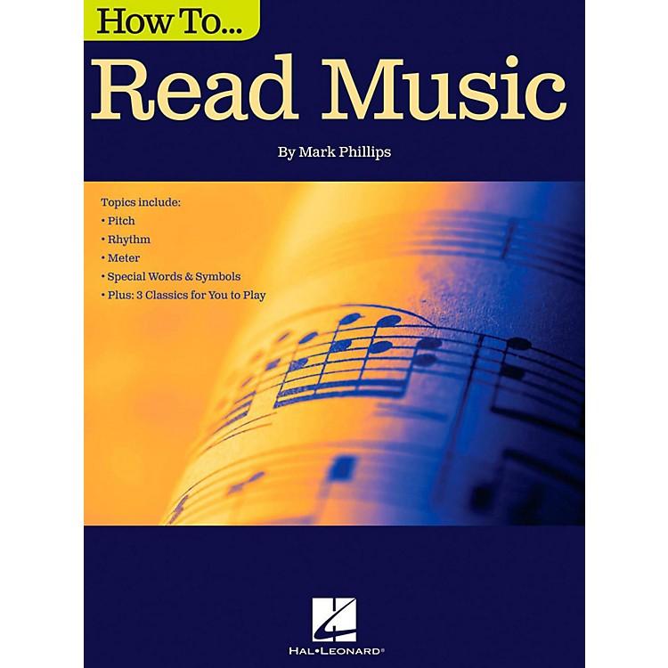 Hal LeonardHow To Read Music Book