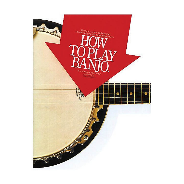 Music SalesHow to Play Banjo Music Sales America Series Softcover Written by Tim Jumper