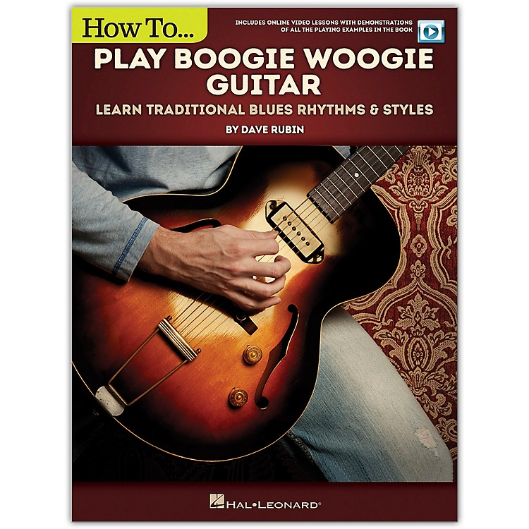 Hal LeonardHow to Play Boogie Woogie Guitar - Learn Traditional Blues Rhythms & Styles Includes Online Video