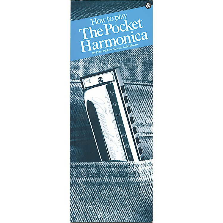 Music Sales How to Play Pocket Harmonica Book