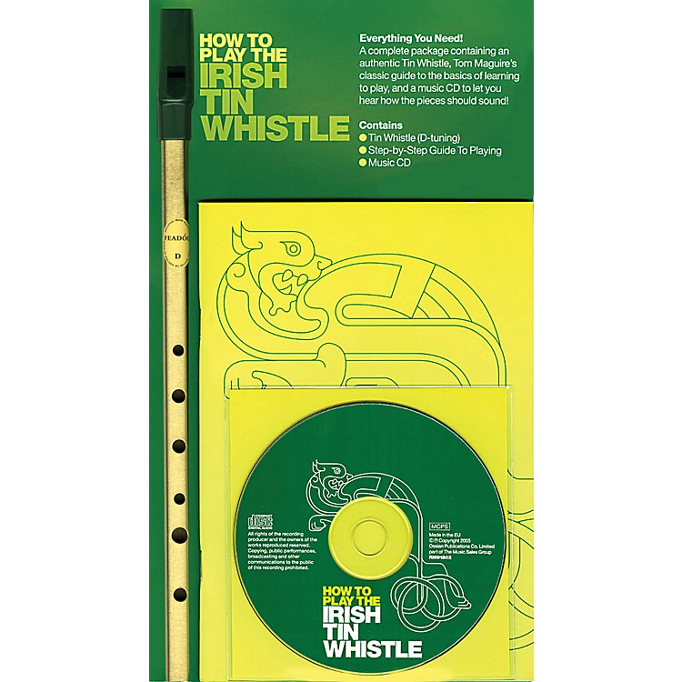 Music SalesHow to Play the Irish Tin Whistle Music Sales America Series Softcover with CD