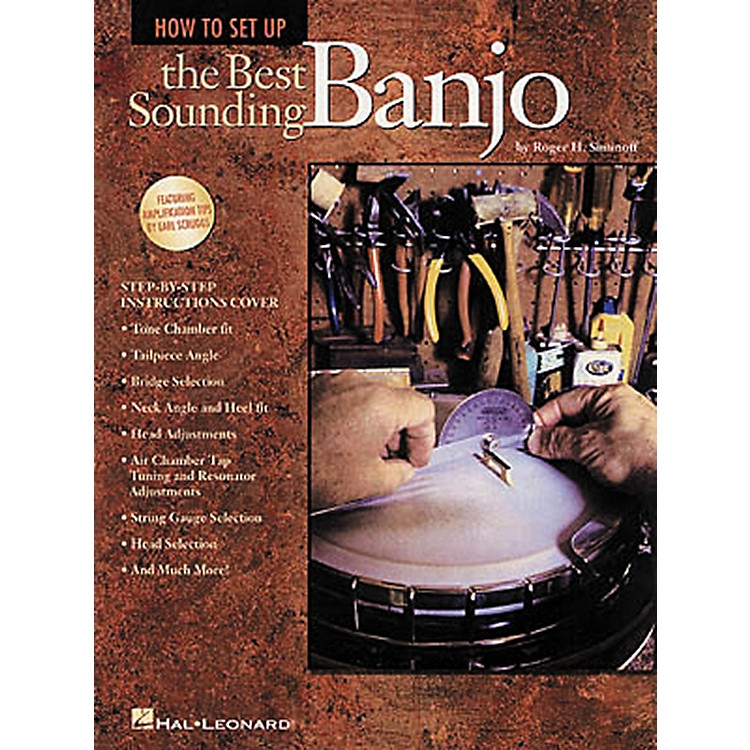Hal LeonardHow to Set Up the Best Sounding Banjo Book
