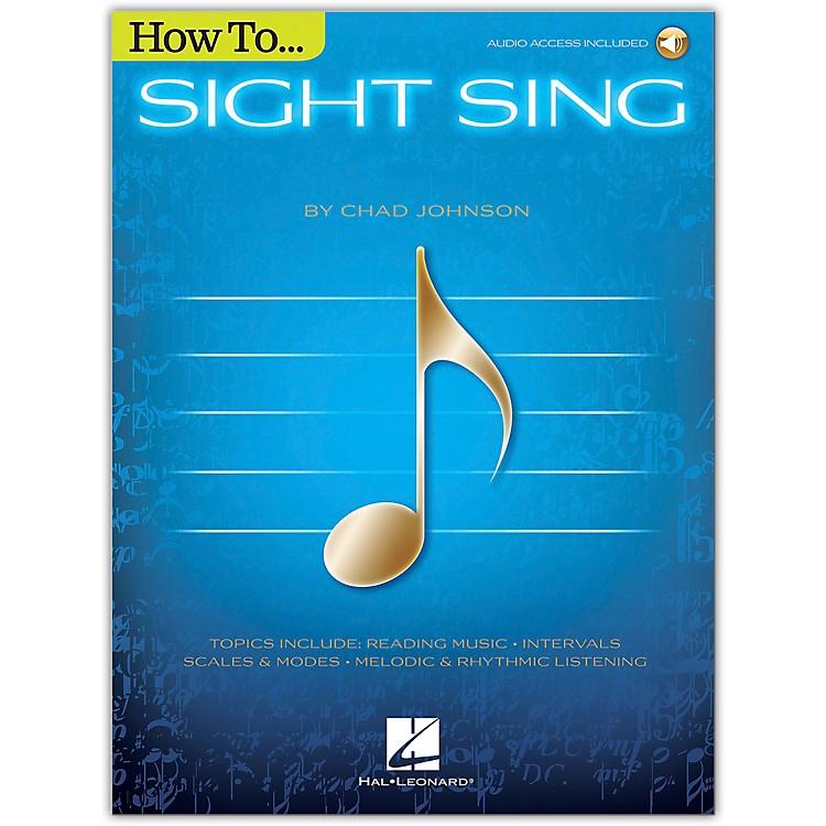 Hal LeonardHow to Sight Sing Book/Audio Online