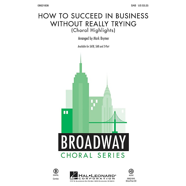 Hal Leonard How to Succeed in Business Without Really Trying (Choral Highlights) SAB arranged by Mark Brymer