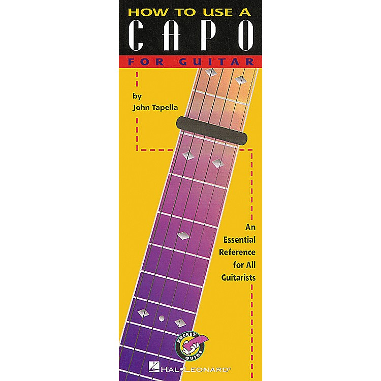 Hal Leonard How to Use a Capo for Guitar Book