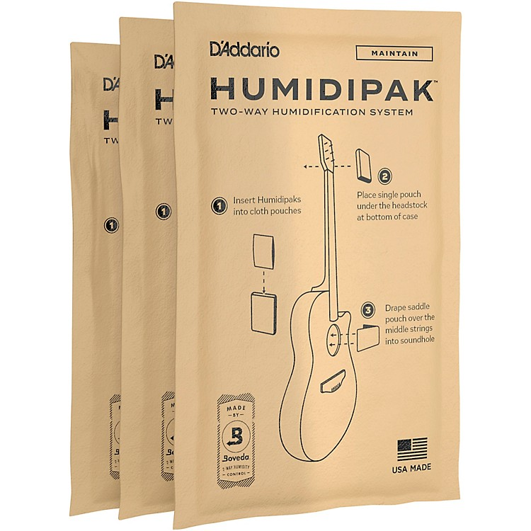 D'Addario Planet WavesHuMIDIpak Replacement Packets - 3 Pack