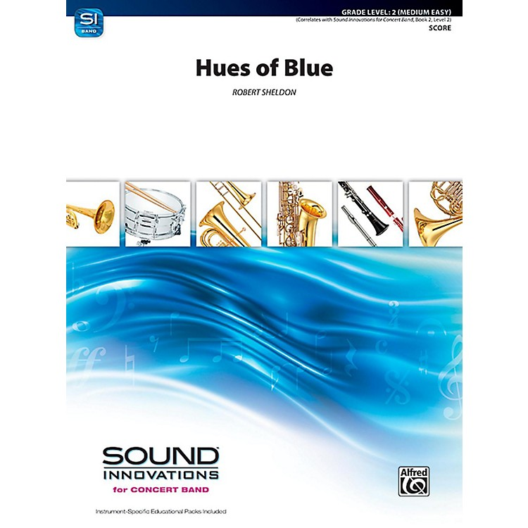 AlfredHues of Blue Concert Band Grade 2 (Easy)