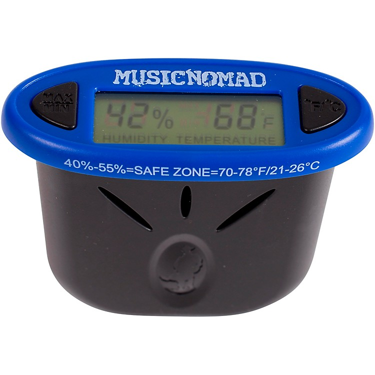 MusicNomad HumiReader - Humidity & Temperature Monitor 3 in 1