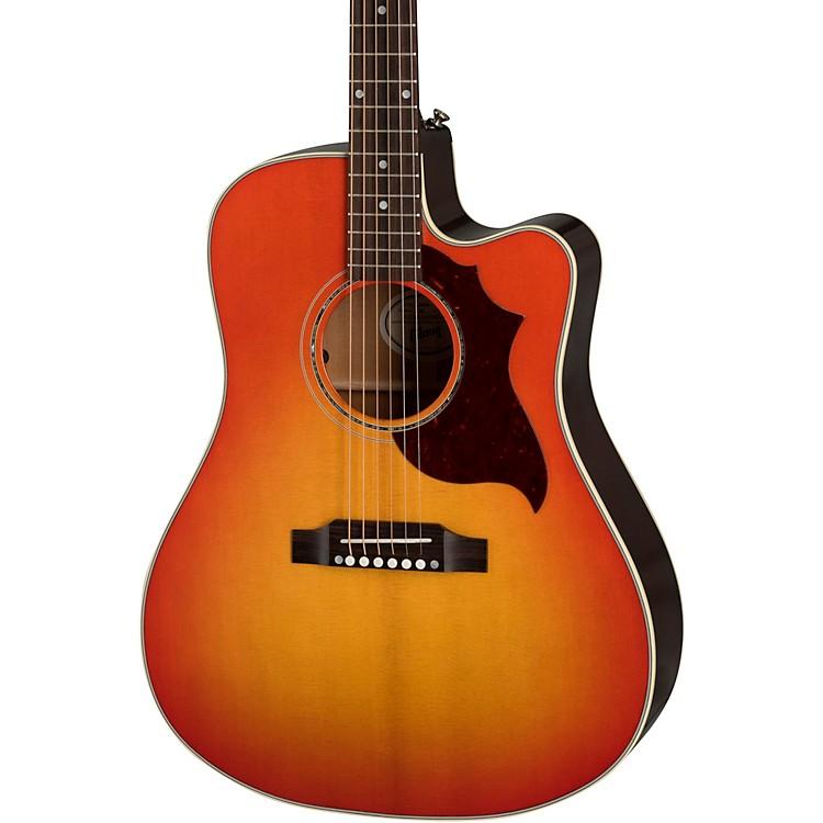 GibsonHummingbird AG Mahogany 2019 Acoustic-Electric GuitarCherry Burst