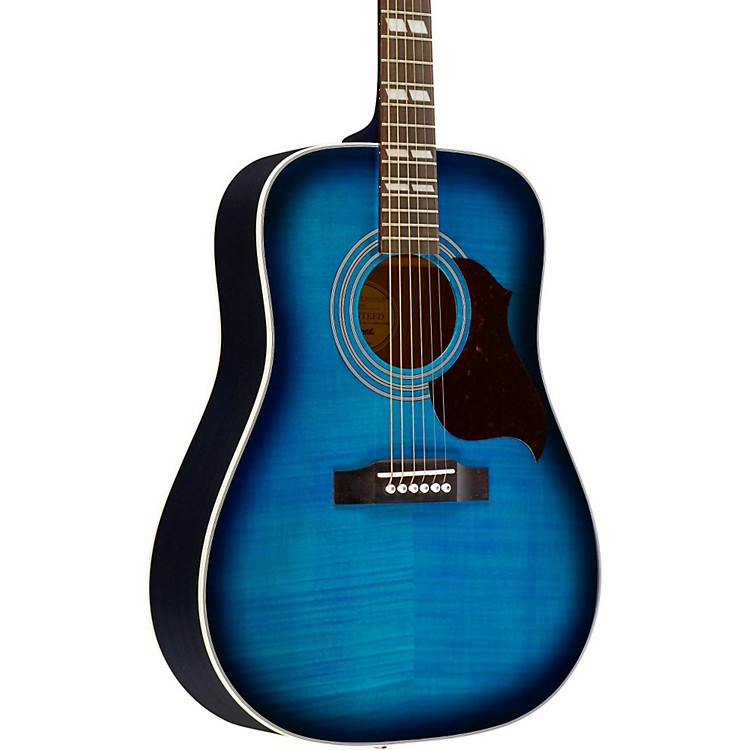 EpiphoneHummingbird Artist Acoustic GuitarBlueburst