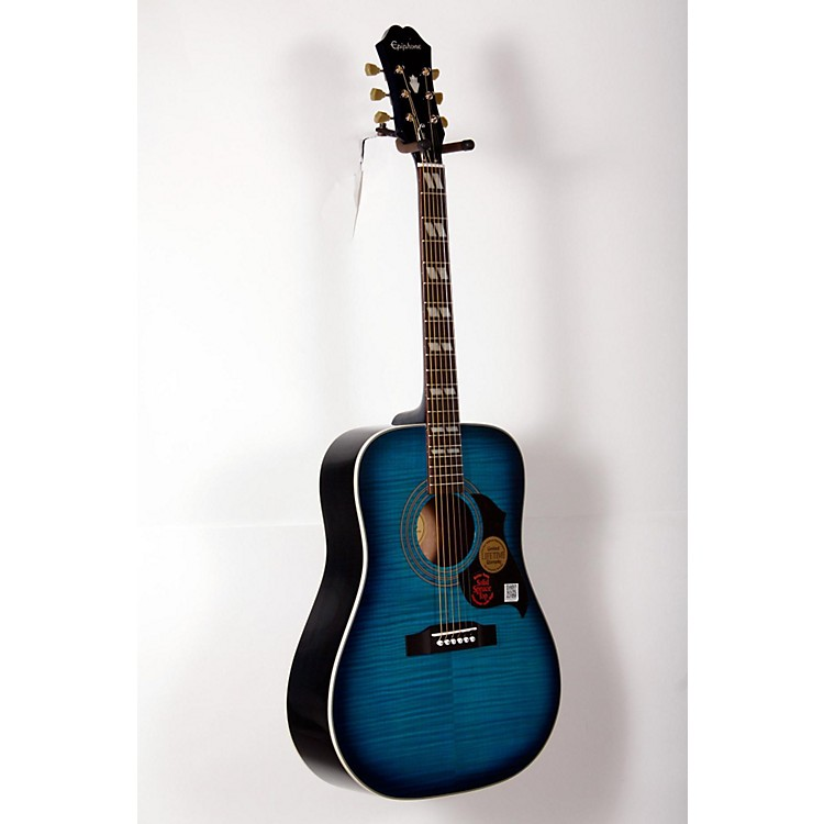 EpiphoneHummingbird Artist Acoustic GuitarBlueburst888365898940