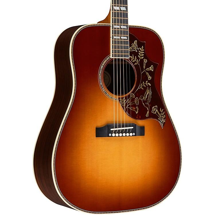 GibsonHummingbird Deluxe Acoustic-Electric GuitarRosewood Burst