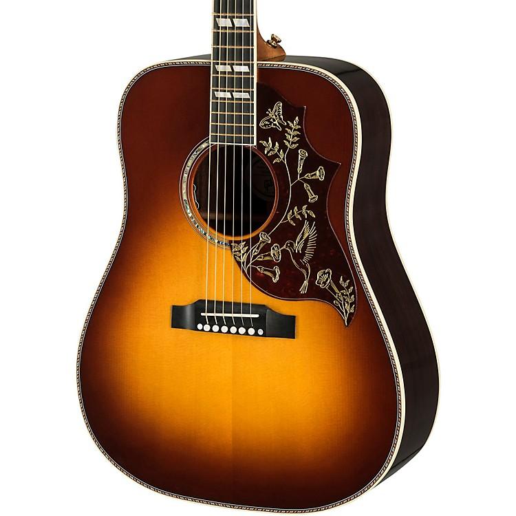GibsonHummingbird Deluxe Rosewood Acoustic-Electric GuitarRosewood Burst