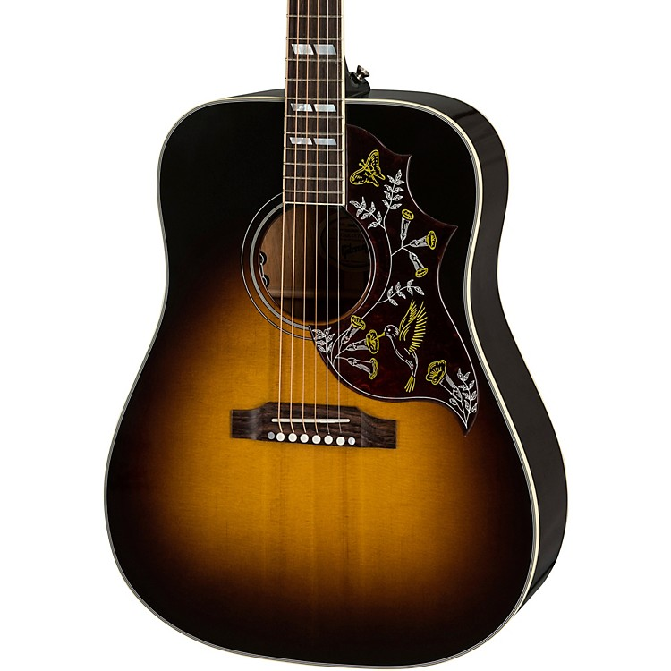 GibsonHummingbird Limited Custom Acoustic-Electric GuitarVintage Sunburst