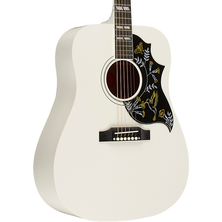Gibson Hummingbird Limited Edition 2018 Acoustic-Electric Guitar White
