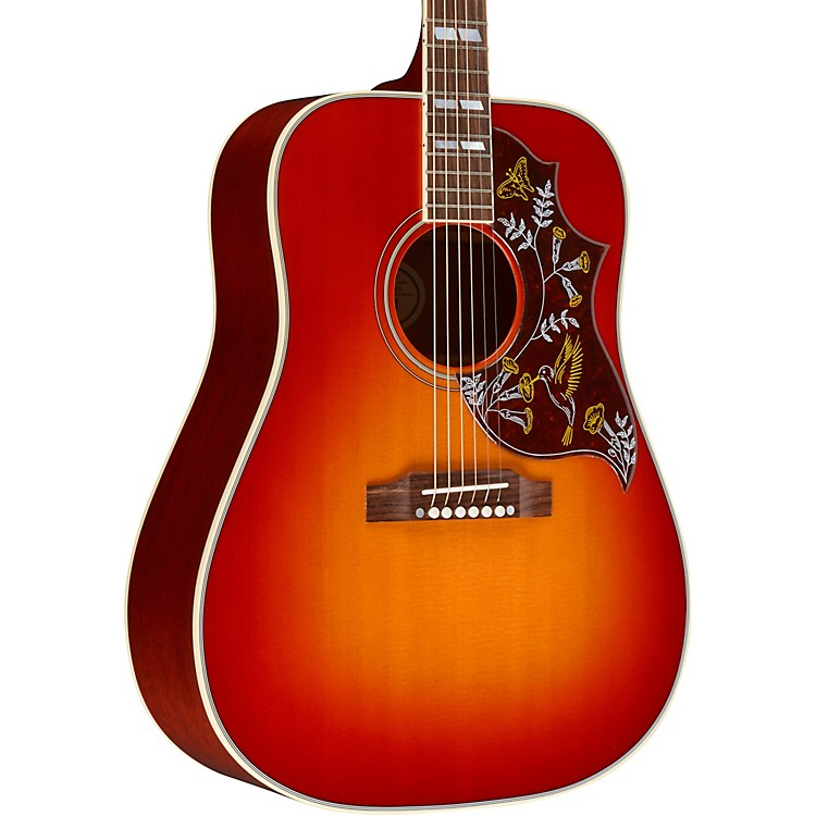 Gibson Hummingbird Standard Acoustic-Electric Guitar Vintage Cherry Sunburst