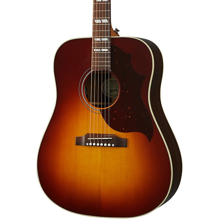 Gibson Hummingbird Studio Rosewood Acoustic-Electric Guitar Rosewood Burst