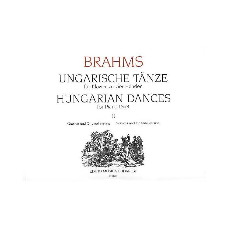 Editio Musica BudapestHungarian Dances Piano 4 Hands Volume 2 EMB Series