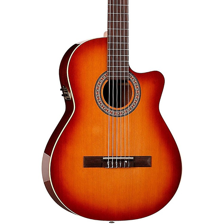 la patrie hybrid cw nylon string acoustic electric guitar music123. Black Bedroom Furniture Sets. Home Design Ideas